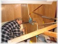 Bootbouw for Wanden nieuwbouwwoning afwerken